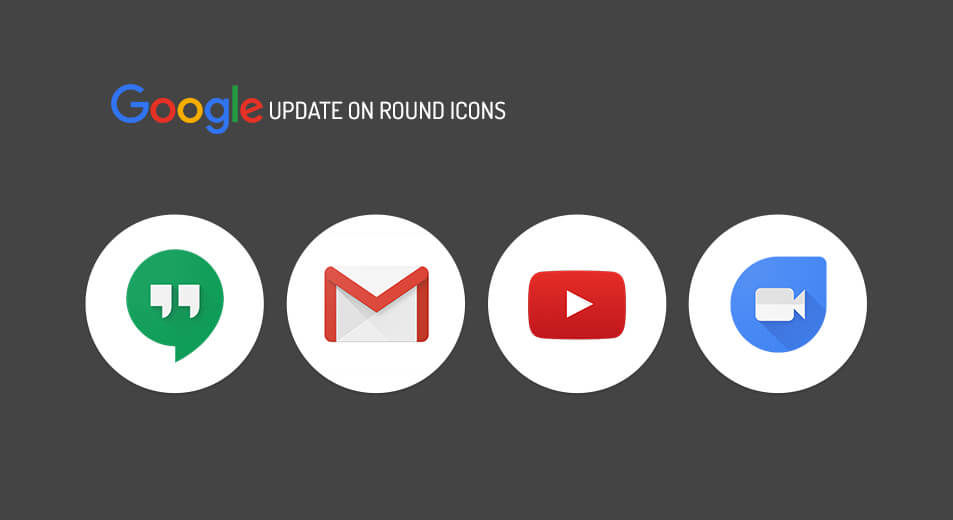 More Buttons! New Google App feed is coming up with round UI elements