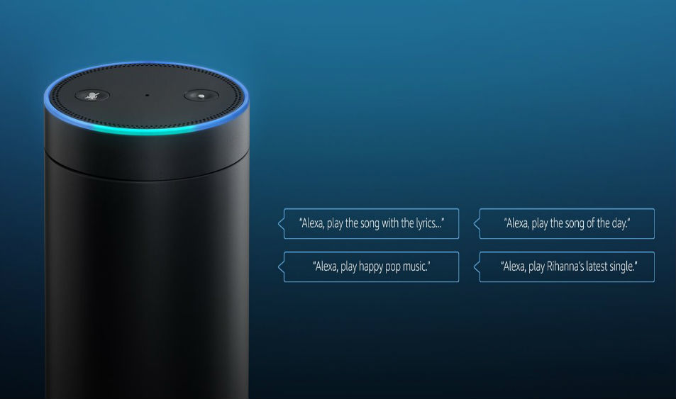Voice Command to Alexa for Listening Music in Amazon Music App