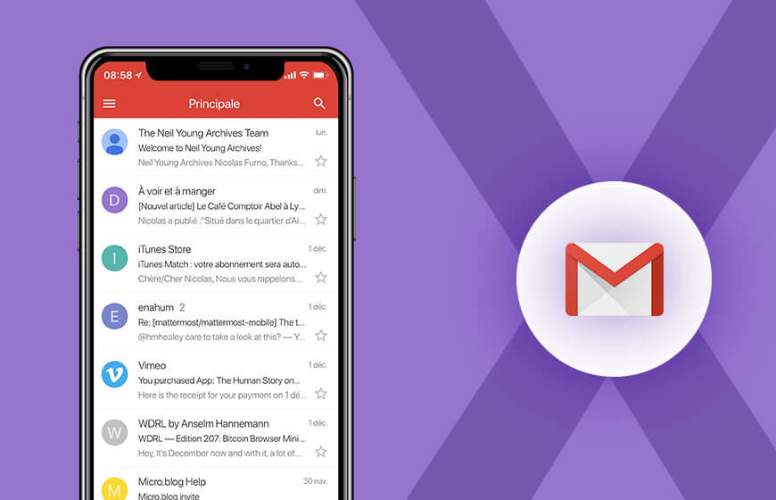 Gmail iOS App Update: Now Supports iPhone X & Third-Party Email Accounts