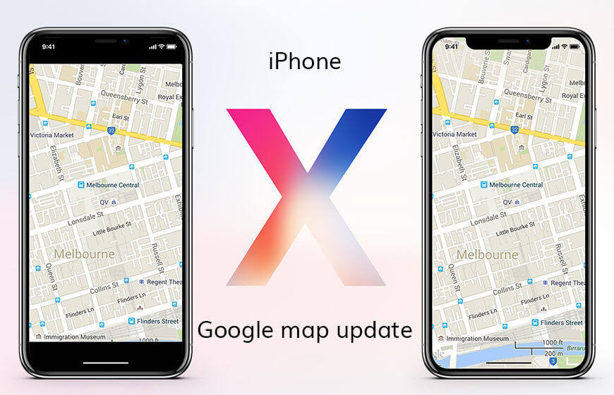 https://dk2dyle8k4h9a.cloudfront.net/Google Maps Gets An Update To Support iPhone X