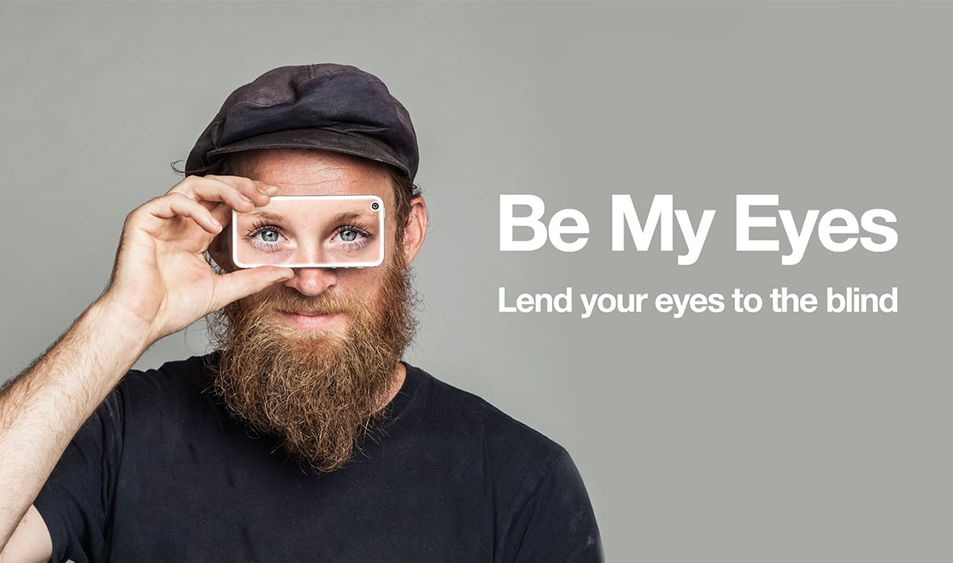 https://dk2dyle8k4h9a.cloudfront.net/Be My Eyes An App to Help Visually Impaired People