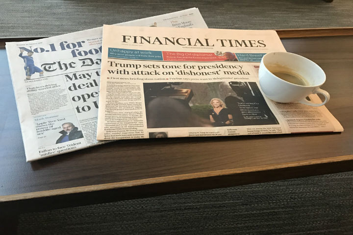 Financial Times Back To Apple