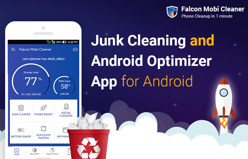 Clean Your Phones With The Best Junk Cleaning And Android Optimizer App