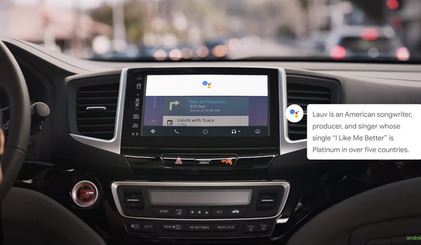 Google Assistant Now Available To Android Auto