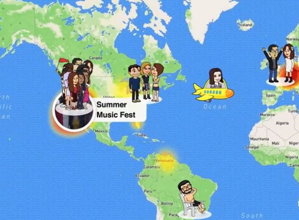 SnapChat Added New Location Sharing Feature and Bought Social Mapping App Zenly