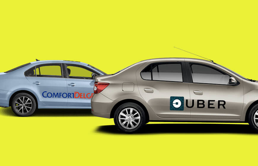 Uber Joined Forces With Local Cab Firm In Singapore To Cut-Down The Car Owning Cost
