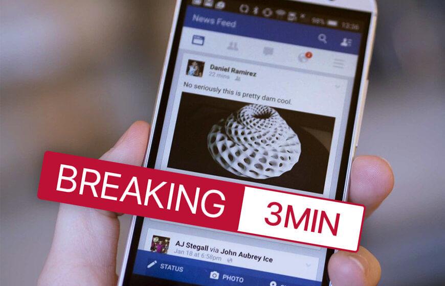 Facebook Breaking News