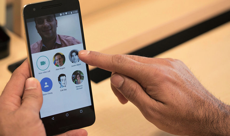 Google Integrated Its Duo App As Video Call Android App