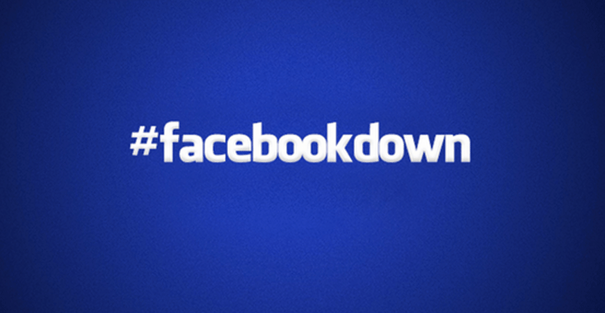 Facebook Down for Millions and Millenials are Forced to Speak with Their Parents