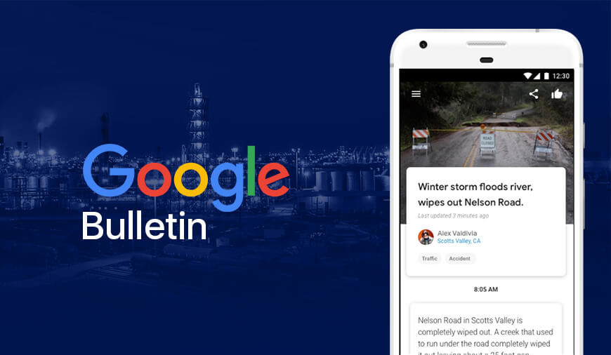 Google Tests Bulletin App To Experiment In Local News
