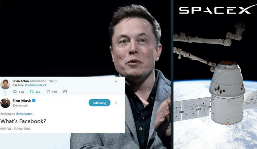 Elon Musk Deleted His Companies\' Facebook Pages