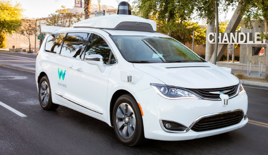 Google\'s Waymo Self-Driving Minivan Crashed Into A Sedan In Arizona