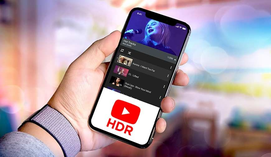 YouTube Added HDR Video Support For iPhone Users