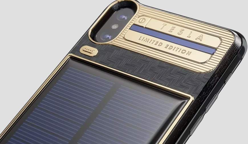 iPhone X Tesla: Is IT A Solar-Powered Smartphone From The Future?