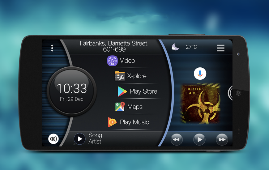 Car Launcher Pro App Review | Android Car Launcher Application