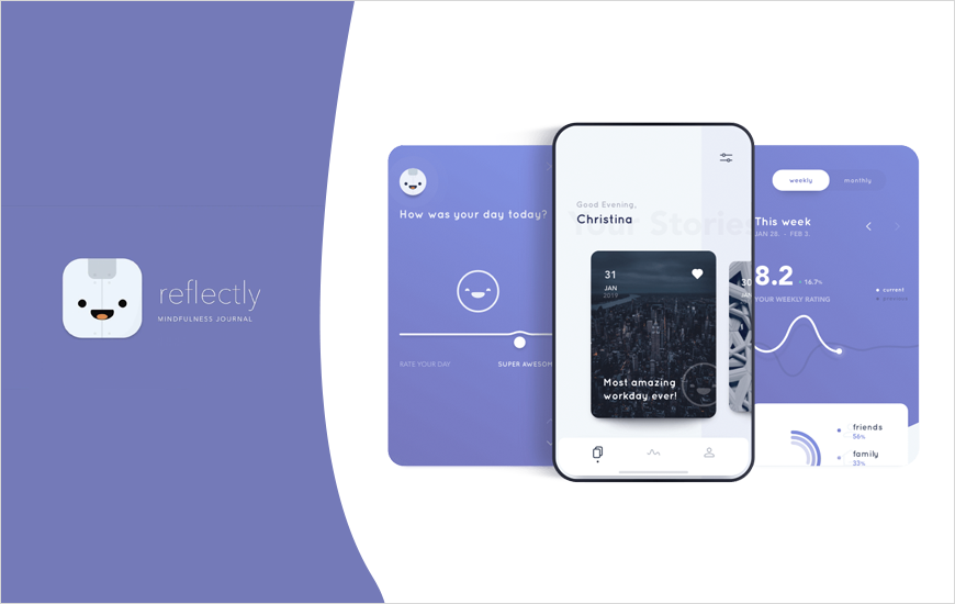 Reflectly - Journal App To Bring Happiness