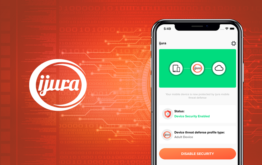 Ijura : Data protection app for smart devices