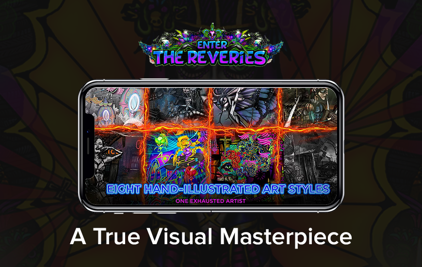 Enter the Reveries: An Artistic Adventure Game