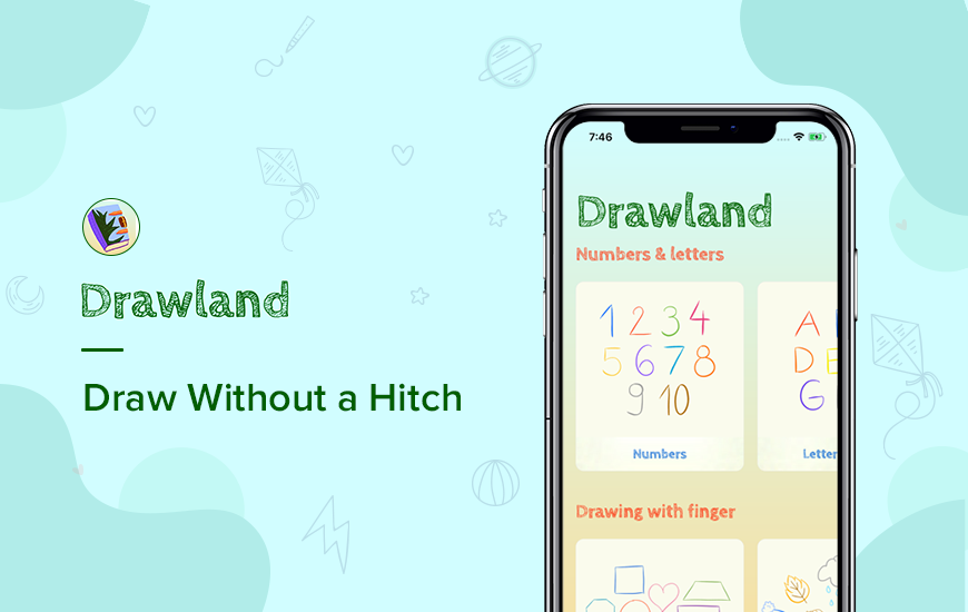 Drawland App: Fun Guided Drawing for Kids