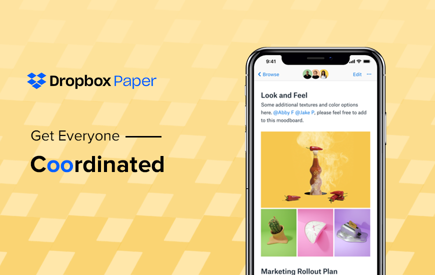 Dropbox Paper: Keep Work Flow On the Go