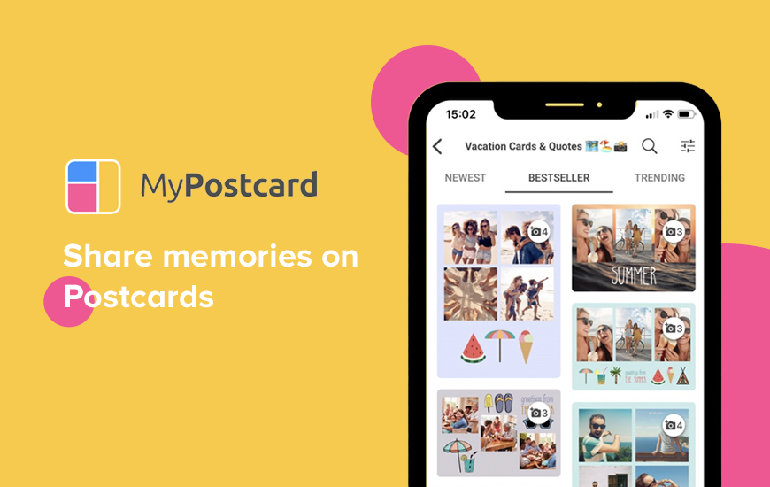 MyPostcard App : Innovative Greeting Cards for You