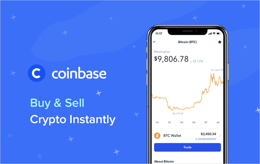 Coinbase: Buy and Sell Cryptocurrency Instantly