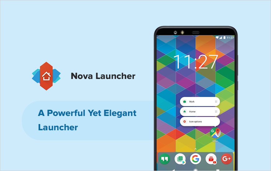 Nova Launcher: A Versatile Home Screen Replacement