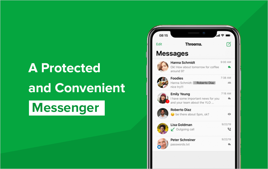 Threema: Secret Messenger That Prioritize Security