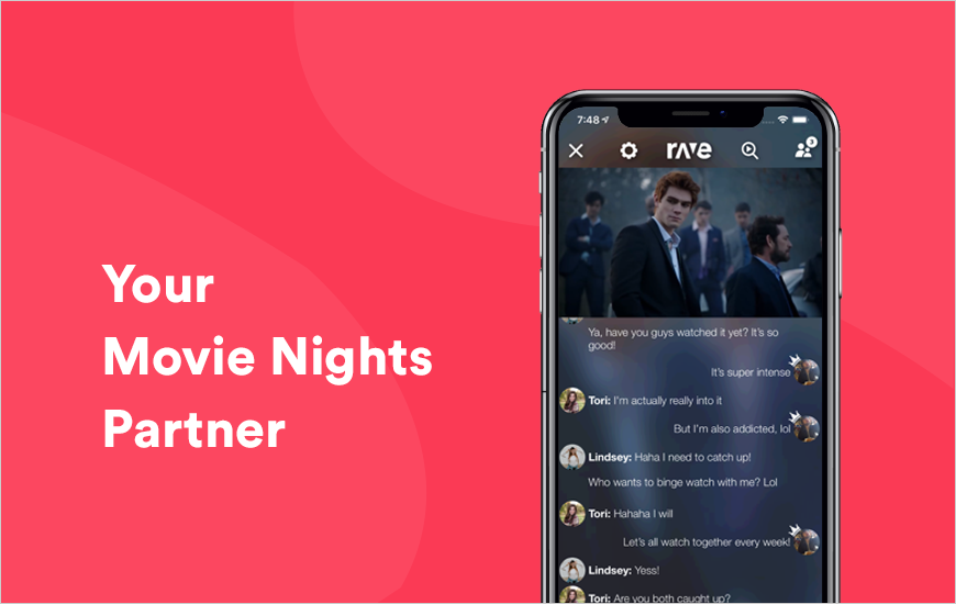Rave: Watch Videos or Chat in One Go