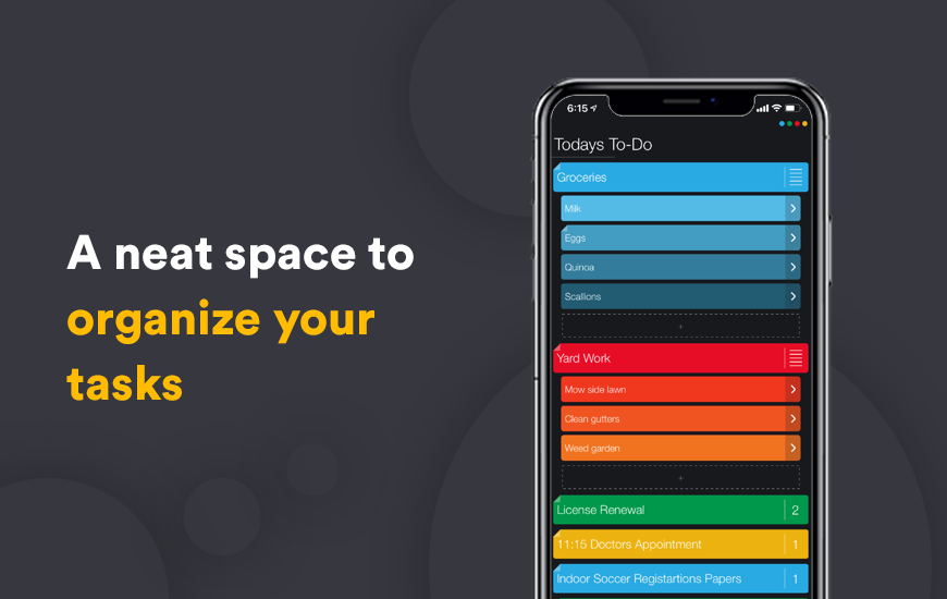 Suru App : A Color-Coordinated Organizer