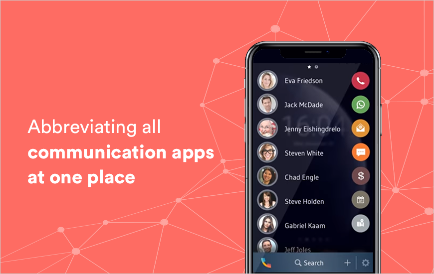Drupe App: Enabling Chats and Calls Together