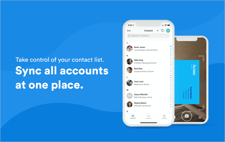 Contacts+ App: Manage Contacts from One Place