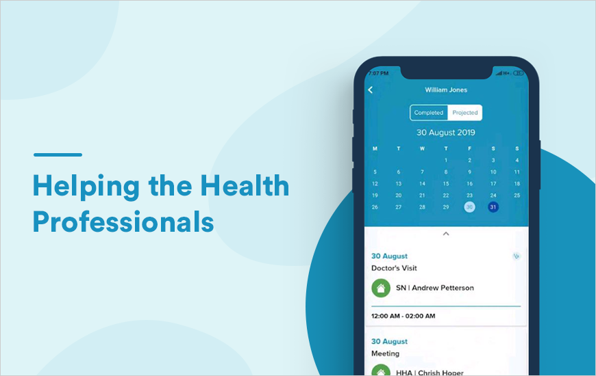 Home Health Notify App: Helping Clinicians get Org