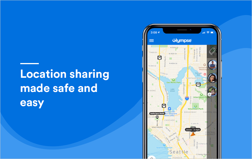 Glympse App: Location sharing made easy