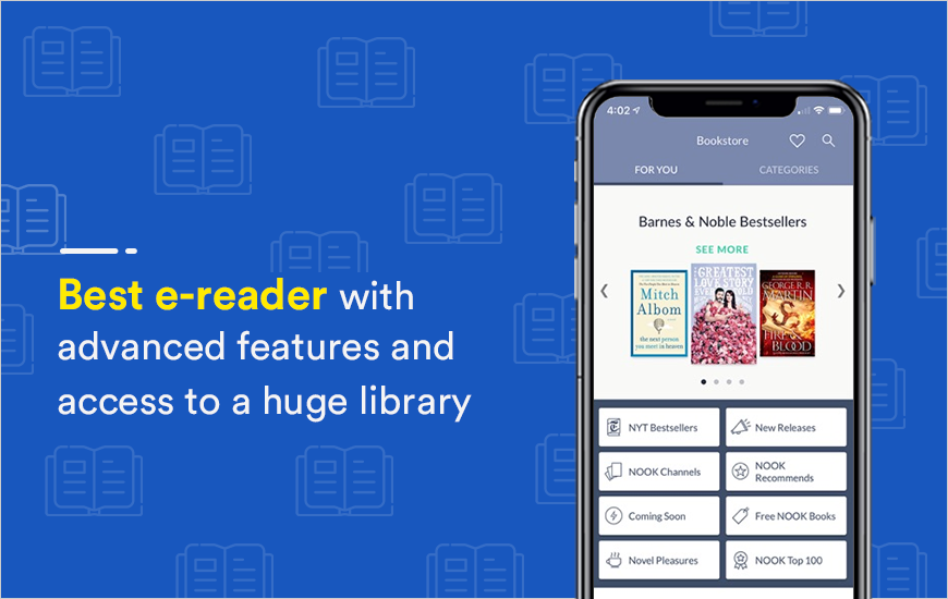 Nook E-reader App: Most Intuitive E-reader