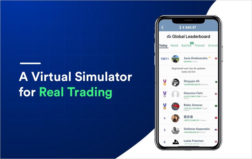 Trading Game - fun Stock, Forex market simulator