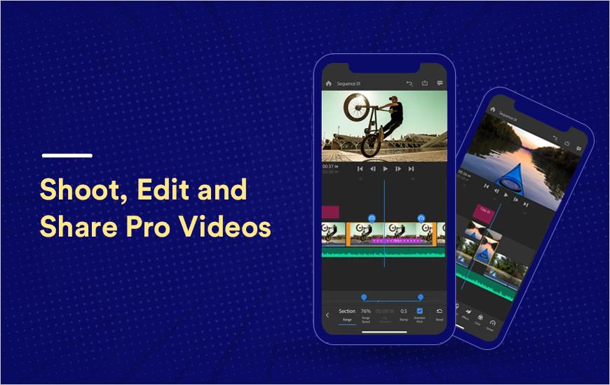 Adobe Premiere Rush: Shoot, Edit & Share Pro Video