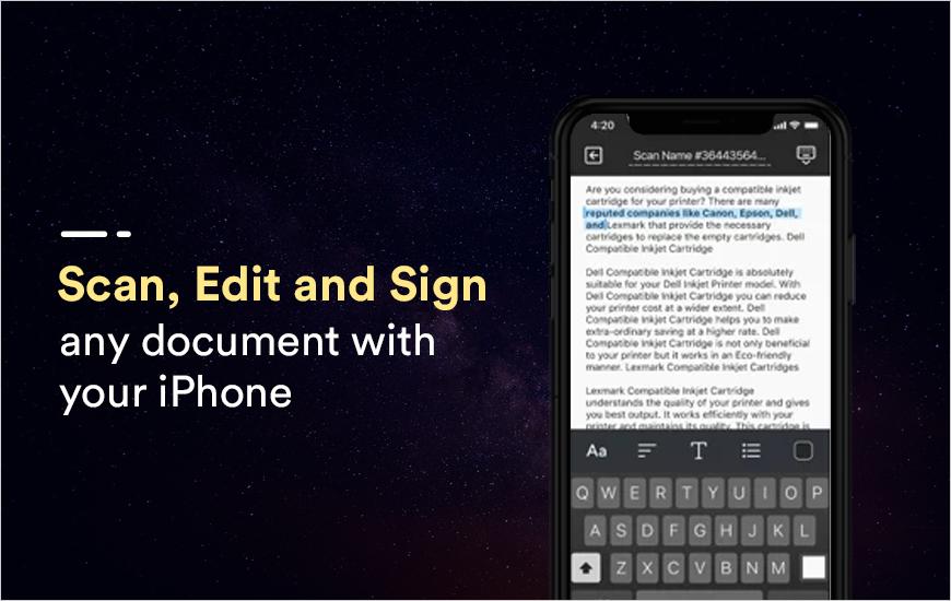 ScanGuru App: Powerful Scanner and OCR for iPhone