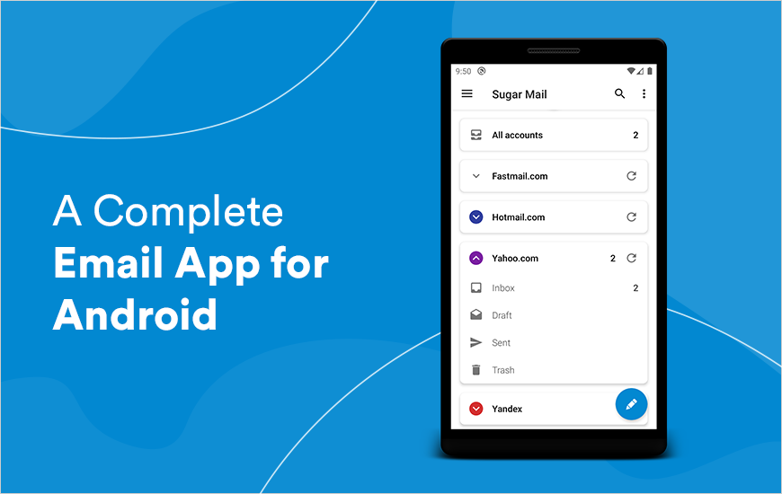 Sugar Mail App - A Complete Email App for Android