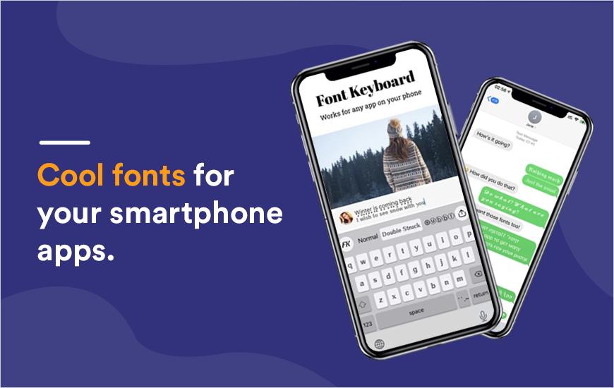 Font Keyboard App: Amazing fonts for all Apps