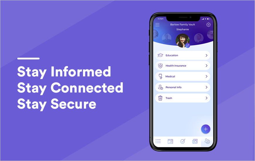 Vaultt App: Stay informed, organized & connected
