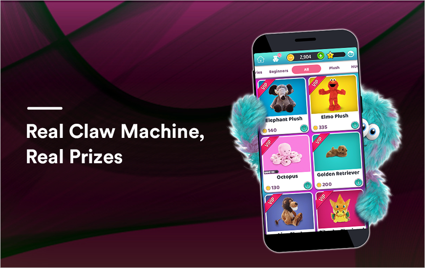Clawee App: Real Claw Machine, Real Prizes