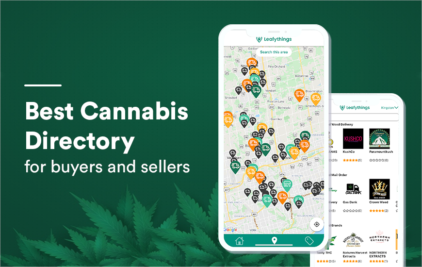 Leafythings App: A complete Cannabis Directory