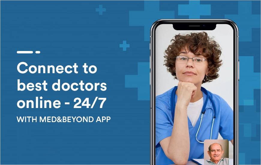 Med&Beyond Telehealth App - Best Telemedicine App
