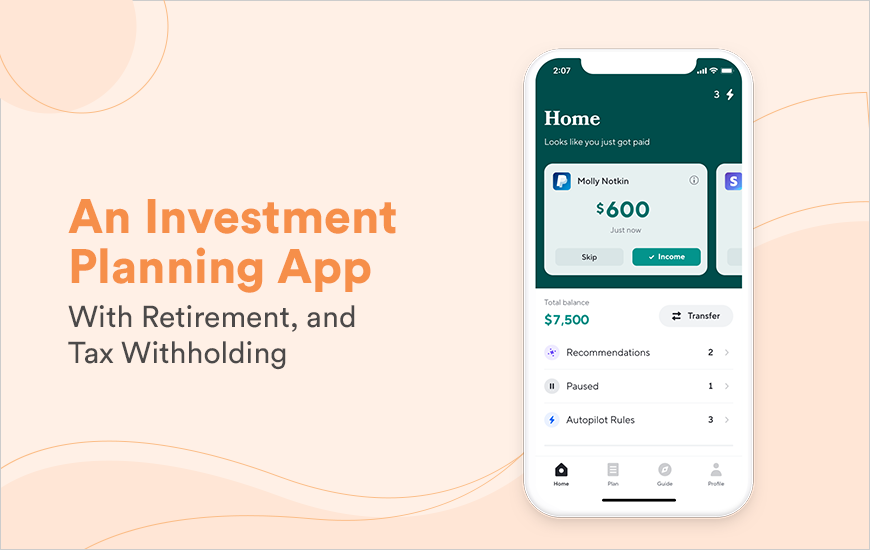 Catch Benefits App - A Portable Investment Planning