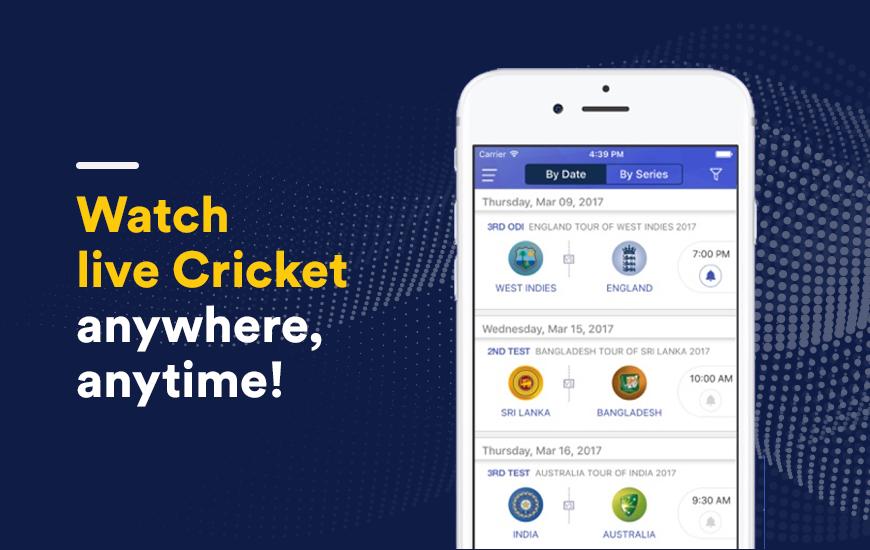 Willow TV App: Stream Cricket 24x7