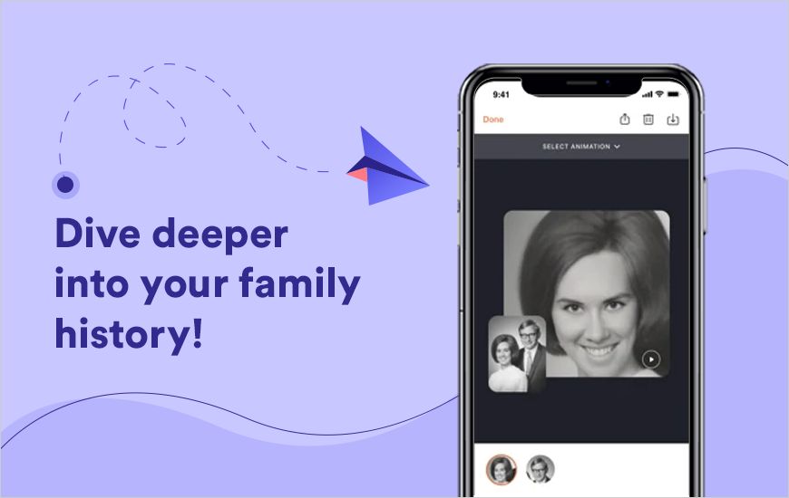 MyHeritage App Review - The Deep Nostalgia App