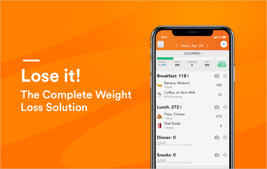Lose It - A Personalized Weight Loss App