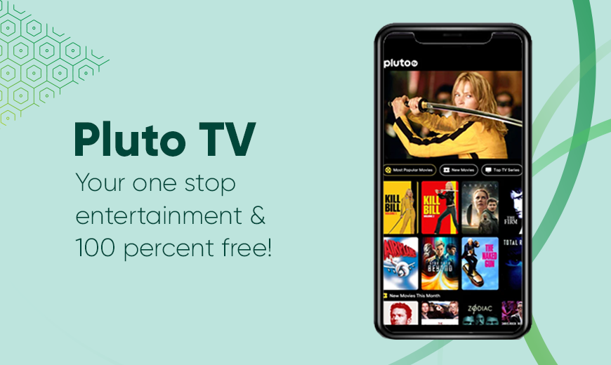 Pluto TV- Free Live Channels and Streaming Service