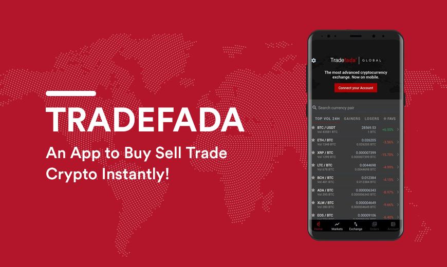 TradeFada - Best Crypto Exchange App For Beginners